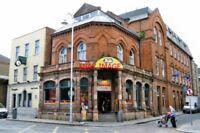 PHOTO  PUB 2011 DUBLIN 'BALD BARISTA' CAFE ON AUNGIER STREET