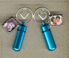 U,Small Urn,Keepsake Urn,Cremation Urn,Key Chain Urn,Turquoise Jewelry