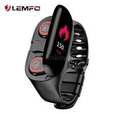 2in1 M1 Smart Bracelet Heart Rate Monitor Watch & TWS bluetooth Headphone set TR