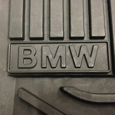2010 to 2017 BMW 535i GT/550i GT Rubber Floor Mats - FACTORY OEM ITEMS - BLACK