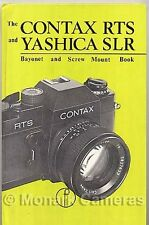 Contax RTS, Yashica FR & Electro M42 SLR Range Camera Book. More Manuals Listed