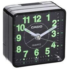 Reloj despertador Casio tq-140-1 - Cuarzo Negro - Nuevo ,PILA AKALINA INCLUIDA