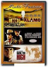Alamo/Butch Cassidy And The Sundance Kid/Hang Em High Dvd Western 3-Disc Set!