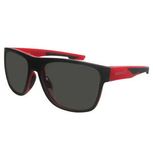 Reebok Golf Men's RBOP 2104 Classic Sport Sunglasses,  Red Frame/Smoke Lens