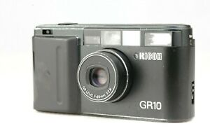【Read! EXC+++】 Ricoh GR10 Point & Shoot 35mm Film Camera Black 28mm F2.8 GR Lens