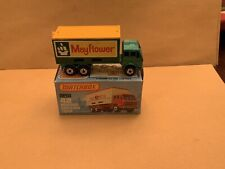"""Matchbox Superfast No. 42 Mercedes Container Truck """"Mayflower"""" Labels Boxed"""