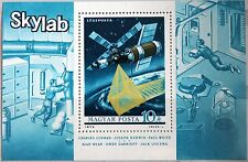 HUNGARY UNGARN 1973 Block 101 A C346 1st US manned Space Station Skylab MNH