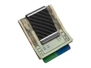 100% Real Carbon Fiber Money Clip / High-Gloss Finish by Carbon Fiber Gear