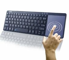 Gosin ® Ultrasottile in metallo Touchpad Tastiera Bluetooth per Dispositivi Android di Windows