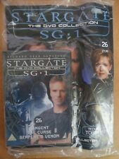 DVD COLLECTION STARGATE SG 1 PART 26 + MAGAZINE - NEW SEALED IN ORIGINAL WRAPPER