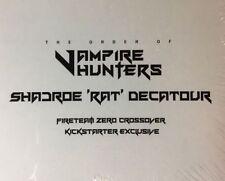 The Order of Vampire Hunters HUNTER ENGRAVED DICE PACK Kickstarter Exclusive