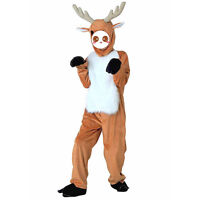 Children Little Deer Cosplay Costume Animal Fancy Dress Jumpsuit Halloween Party