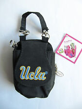 NEW UCLA Black Accessory Money Bank Cards Flip Phone Keys Coins ID Purse