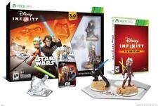 Disney Infinity 3.0 Edition STAR WARS Starter Pack Xbox 360 w/Figures Lot# EB