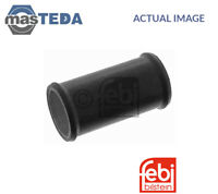 PIPE 28419 I NEW OE REPLACEMENT FEBI BILSTEIN CYLINDER HEAD COOLANT FLANGE