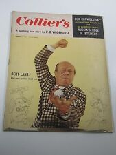 Collier's Magazine- Bert Lahr- Russia's Edge In Jetliners- August 31, 1956