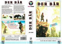 (VHS) Der Bär - Tierspielfilm über ein Bärenjunges... (Frankreich 1988)