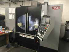 Toyoda Fv1165 2018 Cnc Vertical Machining Center 5 Axis Ready