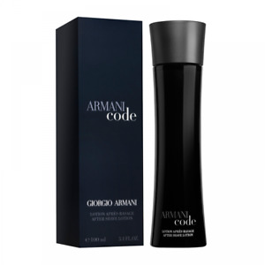 GIORGIO ARMANI CODE AFTERSHAVE LOTION 100ML - NEW BOXED & SEALED - FREE P&P - UK