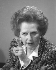 Margaret Thatcher Point BW 10x8 Photo
