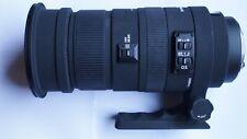 PENTAX FIT Sigma APO DG OS HSM 50 - 500 mm F/4.5-6.3 Lens + HOOD + CAPS + CASE