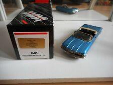 Western Models 1960 Oldsmobile Ninety Eight (open) in Blue on 1:43 in Box
