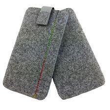 Tasche aus Filz Hülle Filztasche Filzhülle für Samsung S6 S7 Huawei Sony LG Wiko