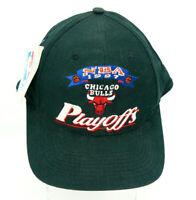 Chicago BULLS 1997 NBA PLAYOFFS Black Snapback CAP HAT RARE SEE DESCRIPTION NWT