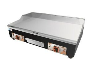Electric Commercial Griddle Hotplate 73 cm Flat Grill With UK Double Plugs