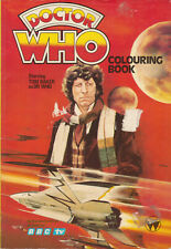 RARE: Doctor Who Colouring Book, 1979. Part sale for charity do.
