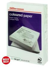 Office Depot Coloured Printer Copy Paper – A4 GREEN 80gsm, 1 ream, 250 sheets