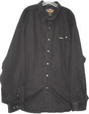 Harley-Davidson long sleeve button front 100% cotton shirt men's size XXXL