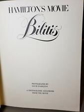 "DAVID HAMILTON'S ""BILITIS"" - Erotica - Photos from the movie - HC - 1977 Signed"