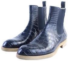 Louis Vuitton Blue Chelsea Alligator Boots/Booties 22lr0701