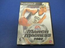 PlayStation 2, March Madness 2002, EA Sports, Rated E, One Shining Moment