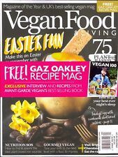 VEGAN FOOD & LIVING March 2018 + Gaz Oakley Recipe Mag
