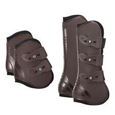 4 PCS Front Hind Leg Boots Adjustable Horse Leg Boots Equine Front Hind Leg K1A0