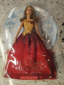 2016 HOLIDAY BARBIE DOLL PEACE HOPE LOVE COLLECTION #DRD25 NIB DAMAGED BOX