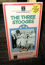 THE THREE STOOGES: COOKOO CAVALIERS & OTHER NYUKS VHS VIDEO, 3 B&W CLASSICS, GUC