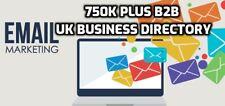 750k Plus  B2B UK Business Directory Mailing Email Database List Marketing