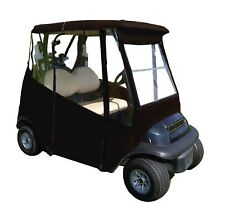 DoorWorks Enclosures Portable Drivable Golf Cart Cover - Universal 2 Passenge...