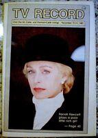 TV Guide 1987 Farrah Fawcett Poor Little Rich Girl Regional EX/NM COA Rare