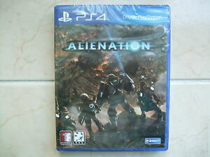 Alienation - PS4 Korean Edition (2016) / Package