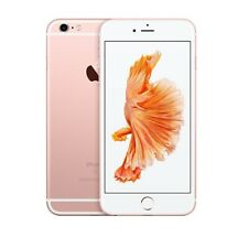 SIM GRATIS APPLE IPHONE 6S 32GB Rose Oro Sbloccato Di Fabbrica A1688 solo telefono