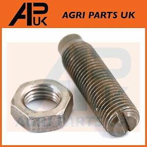 Rocker Arm Screw & Nut Adjuster for Massey Ferguson 165 290 390 399 590 Tractor