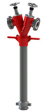 Awg Hydrantenstandrohr DIN 14375 DN 80 Standard