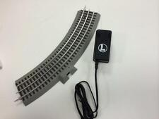 LIONEL O GAUGE FASTRACK CURVE POWER SUPPLY & TRACK LIONCHIEF RC 6-12015