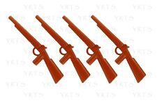 YRTS 6274 Playmobil Lote 4 Escopetas doble cañón Soldados de la Unión ¡New!
