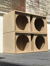 "One Double 15"" Mid/Bass Soundsystem Speaker Box"
