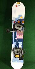 "Crazy Creek Robot Kids Snowboard 138 cm (54"") Excellent!"